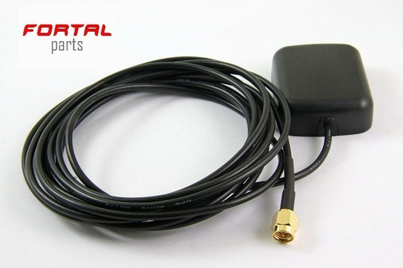 Antena Gps Plug Sma - Dvd Automotivo Rastreador