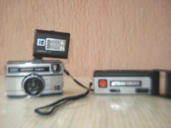 Câmera Fotografica Kodak Antiga Instamatic 177xf E Cross