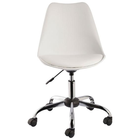 Kit 4 Cadeiras Eames Office Sem Braço 12x Frete Grátis