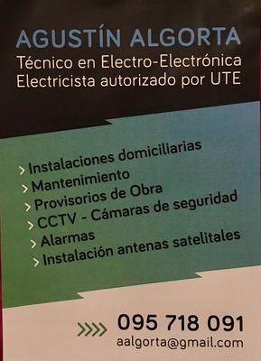 Electricista Autorizado - Punta Colorada - Piriapolis