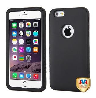 Protector Uso Rudo Negro iPhone 6s Plus 6 Plus