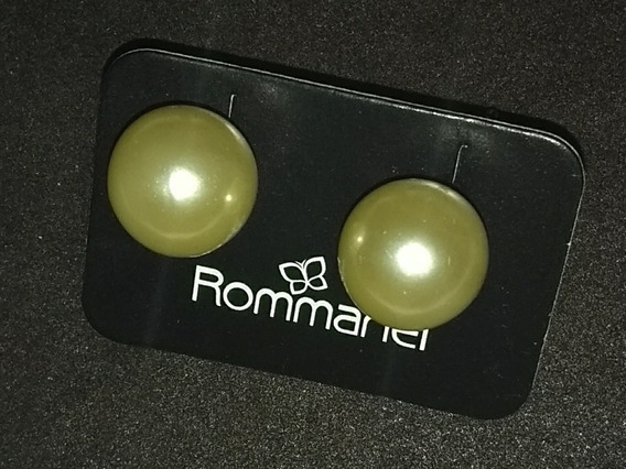 Brinco Rommanel Pérola