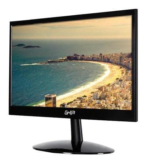 Monitor Led Ghia Hd - 15.6 Pulgadas - Negro - Vga - Hdmi