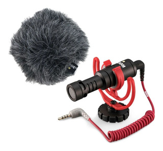 Micrófono Rode VideoMicro cardioide negro