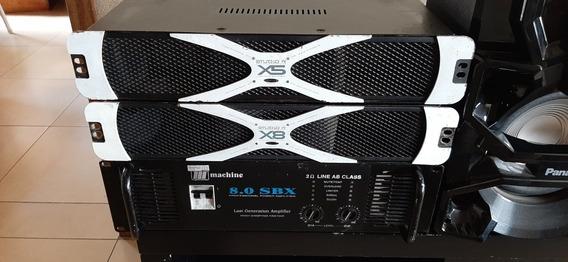 Amplificador De Studio R X8 Semi Novo