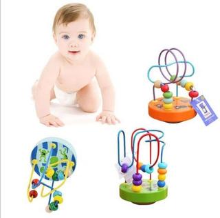 Juguete De Madera Didáctico Pará Bebés Interactivo Twister