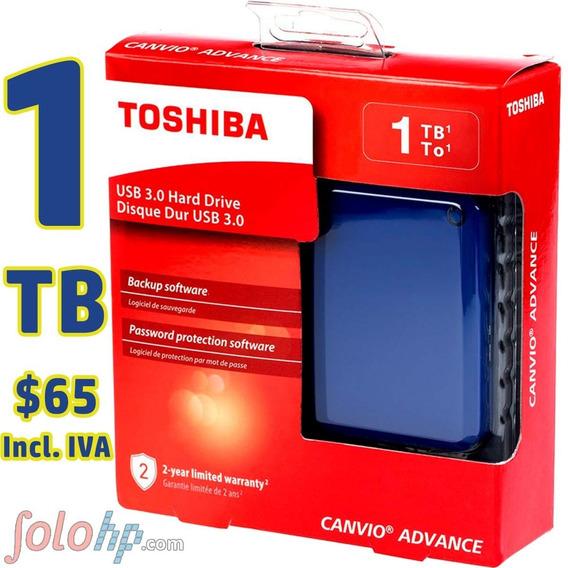 Disco Externo 1tb Toshiba Advance Garantia 2 Años C O L O Rs