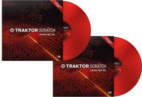 Time Code Vinyl Traktor Scratch Mk2-red-kit (02) Unidades