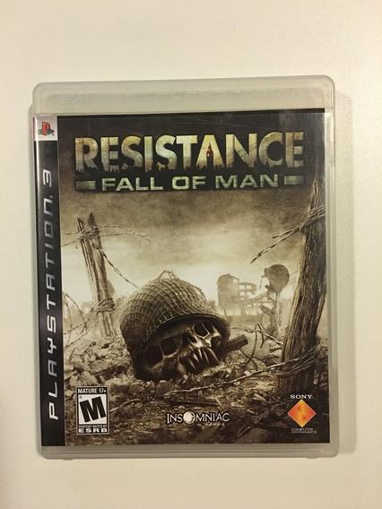 Resistance 1: Fall Of Man | Ps3 | Mídia Física