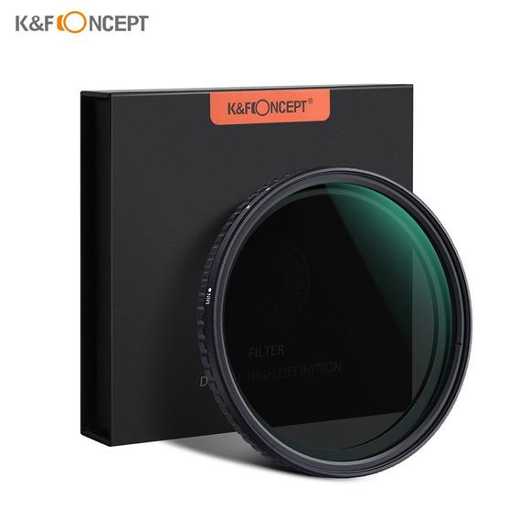 K & F Conceito 58mm Extremista Fino Ajustável Neutro Variáve