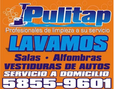 Pulitap Lavado De Salas, Alfombras, Vestiduras De Autos.