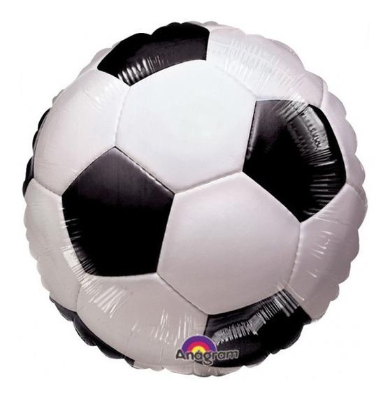 4 Globos Balon Pelota Balon Futbol Soccer Deporte Met 18in F