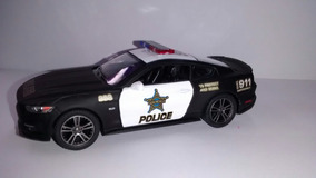 Miniatura De Metal Da Polícia Escala 1:38 Mustang 2015