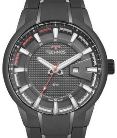 Relógio Technos Masculino Racer Preto - 2117law/4p