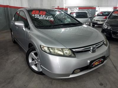 Honda New Civic Lxs Flex Autmático 2008 - H2 Multimarcas