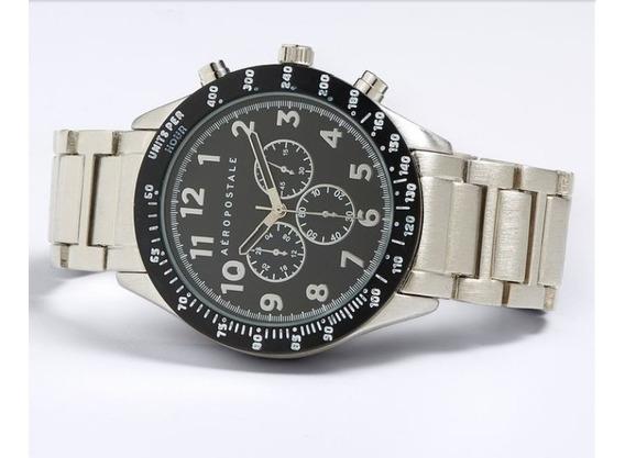 Relógio Aeropostale Metal Chrono Analog