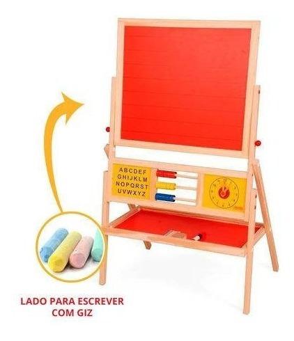 Lousa Infantil Cavalete Brinquedo Educativo Quadro Criança