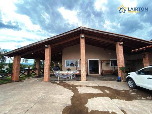 Chácara Com 2 Dormitórios À Venda, 1235 M² Por R$ 700.000,00 - Country Residencial Félix - Bom Jesus Dos Perdões/sp - Ch0875