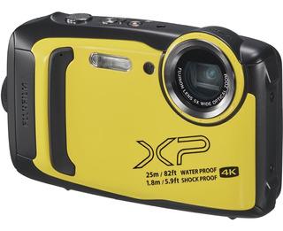 Fujifilm Cámara Digital Finepix Xp140 Amarilla Contra Agua