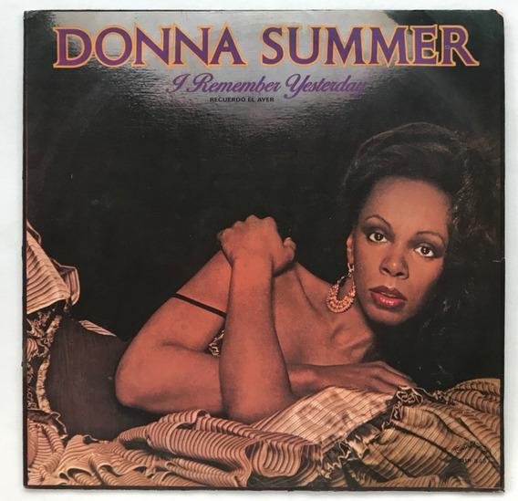 Disco Donna Summer I Remember Yesterday Vinilo 1977
