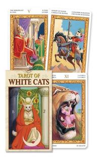 Tarot De Los Gatos Blancos, Tarot Of White Cats. Miniatura.
