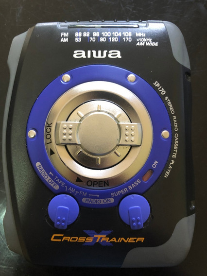 Walk Man Cross Trainer Aiwa Modelo Sp170w Am Fm Cassette