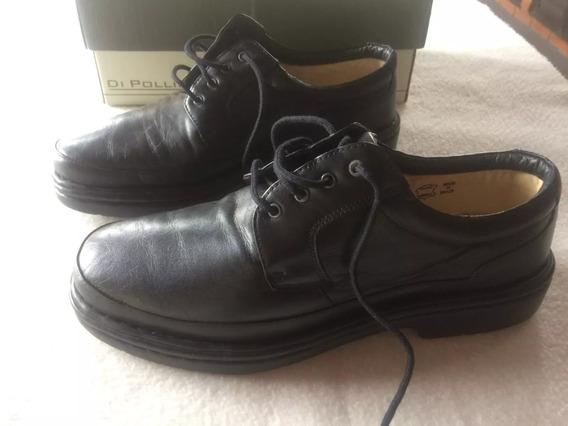 Sapato Casual Masculino Di Pollini Couro Natural 906floater