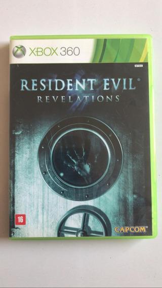 Resident Evil Revelations Xbox 360 Midia Fisica Original.