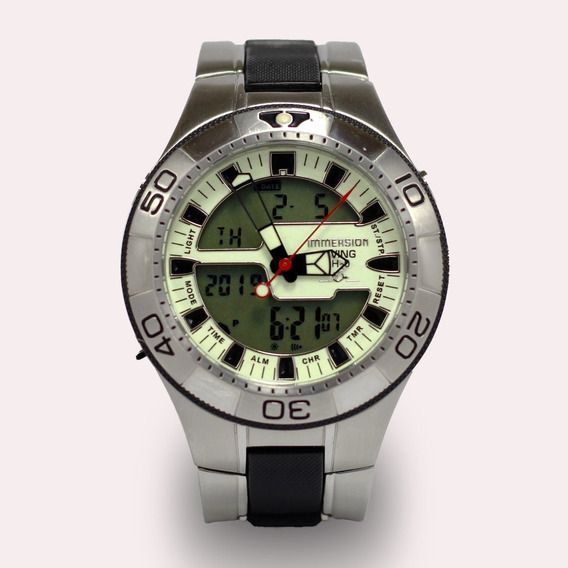 Reloj Para Buceo Immersion Diving H20 Italian Style.
