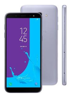 Smartphone Samsung Galaxy J6 32gb Dual 5.6 Tv Digital Prata