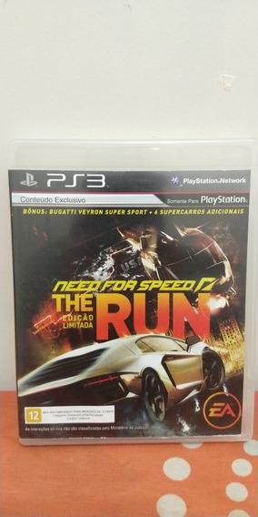Jogo Need For Speed The Run Edição Limitada Mídia Física Ps3