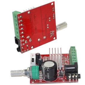 Kit Placa Amplificador 2.1 - 60w Rms 15w+15w+30w