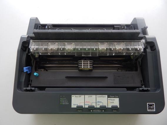 Impressora Matricial Epson Lx-350 Sem Tampas E Suportes
