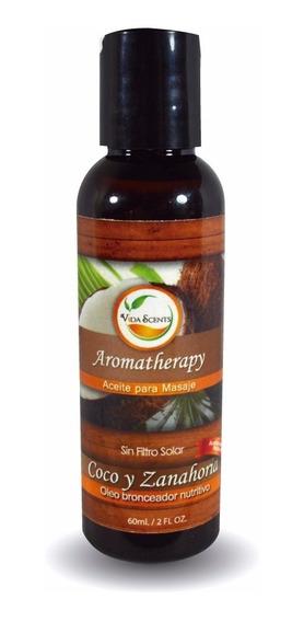 Aceite Para Masaje, Esencial De Aromaterapia 60 Ml.