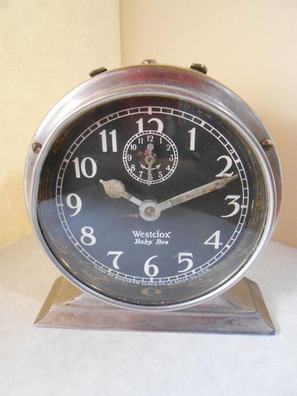 Impresionante Despertador Westclox Baby Ben De 1927