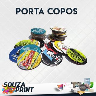 5000 Bolachas Porta Copos Personalizadas