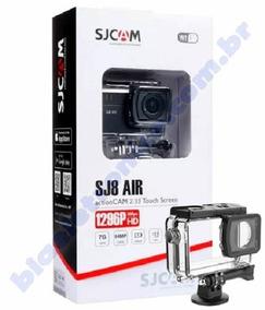Câmera Esportiva Sjcam Sj8 Air Wifi Original Full Set