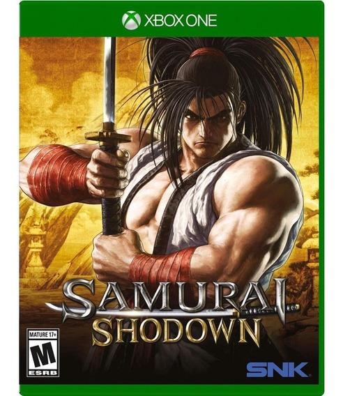 Samurai Shodown Xbox One Mídia Física Novo Lacrado Original