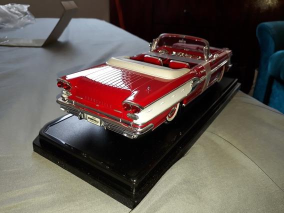 Miniatura Pontiac Bonnevilhe 1958 Escala 1.18
