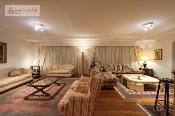 Apartamento Residencial À Venda, Higienópolis, São Paulo. - Ap0942