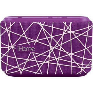 Ihome Slip And Water Resistant Fabric Rechargeable Bluetoot