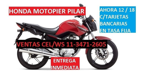 Honda Cg New Titan 150 Precio + Cuotas Solo C/tarj  Motopier