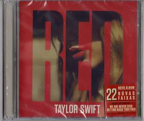 Taylor Swift - Red Cd Duplo Original Novo Lacrado