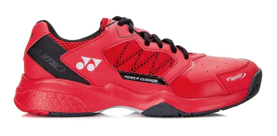 Tênis Yonex Power Cushion Lumio 2 All Court Vermelho E Preto