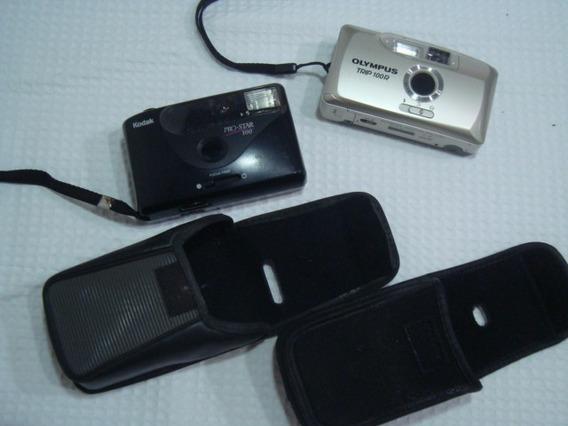 Câmeras Antigas 1 Kodak E 1 Olympus Conforme Imagens