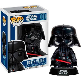 Funko Pop Darth Vader Star Wars # 01 * Local Balvanera