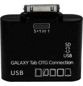 Adaptador 5 Em 1 Otg Para Tablet Samsung Galaxy Tab