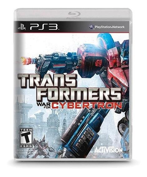 Transformers War For Cybertron Novo Original Playstation Ps3