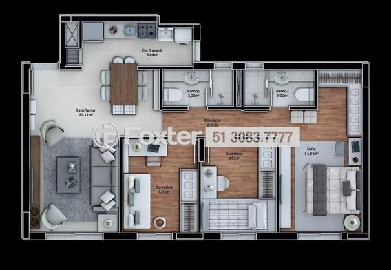 Apartamento, 3 Dormitórios, 76.4 M², São José - 188083