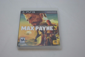 Jogo Ps3 - Max Payne 3